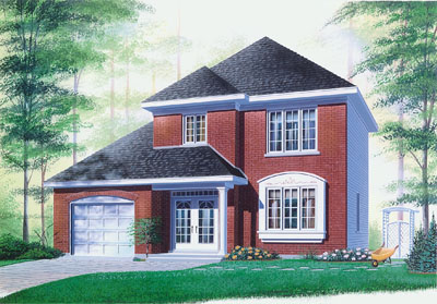 Traditional Style Floor Plans 5-392