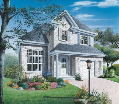 European Style Floor Plans Plan: 5-396