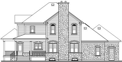 Rear Elevations Plan:5-397