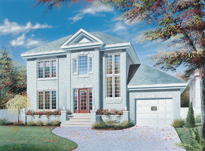 European Style Floor Plans 5-404