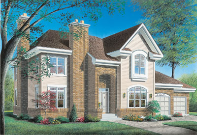 Traditional Style Home Design Plan: 5-409