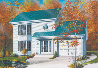 Traditional Style House Plans Plan: 5-412