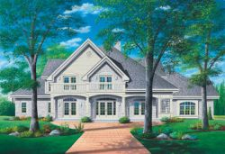 Traditional Style House Plans Plan: 5-414