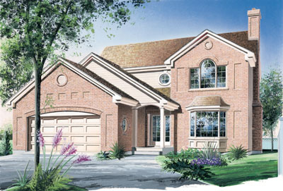 Traditional Style House Plans Plan: 5-415