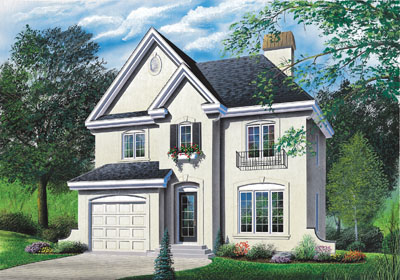 European Style Floor Plans Plan: 5-417