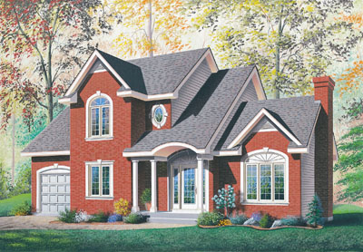 Traditional Style Floor Plans Plan: 5-424