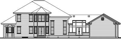 Rear Elevations Plan:5-427