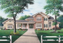 Traditional Style House Plans Plan: 5-427