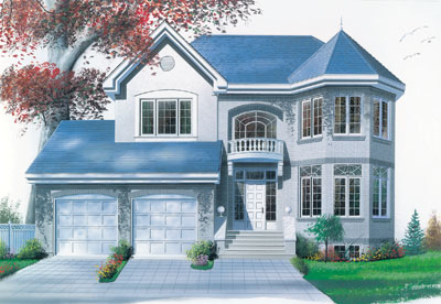 European Style Floor Plans Plan: 5-430