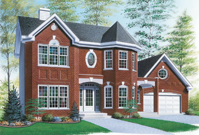 European Style Floor Plans Plan: 5-441