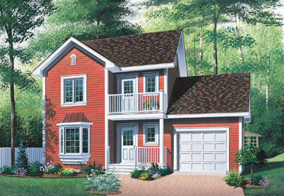 Country Style Floor Plans Plan: 5-448