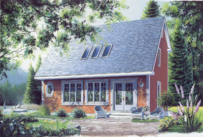 Country Style House Plans Plan: 5-449