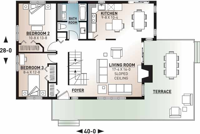 Main Floor Plan: 5-450