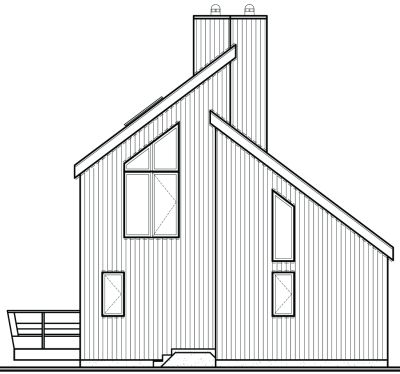 Rear Elevations Plan:5-455