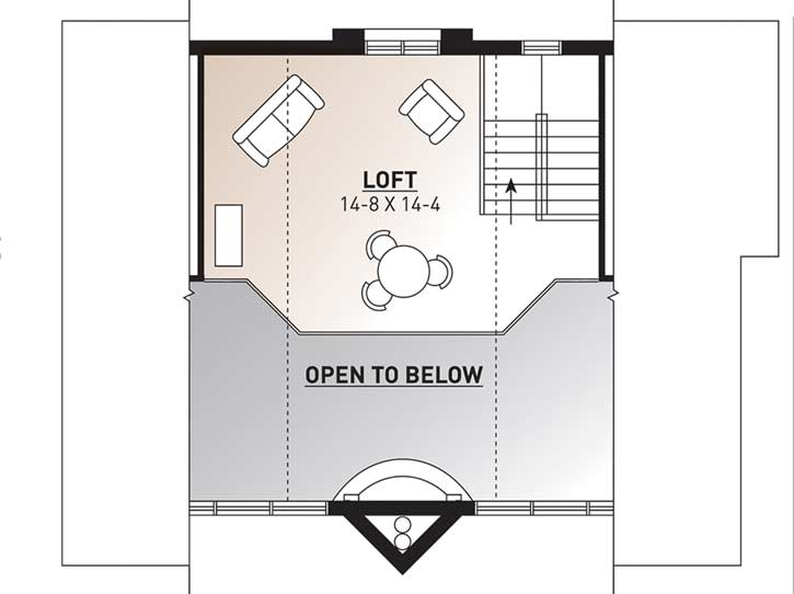 Upper/Second Floor Plan: 5-456