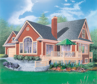 Traditional Style House Plans Plan: 5-459