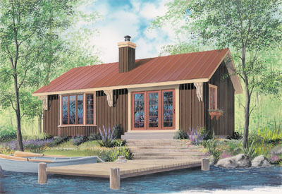 Cottage Style House Plans Plan: 5-460