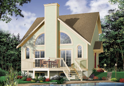 Traditional Style Home Design Plan: 5-461