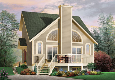 Traditional Style House Plans Plan: 5-462
