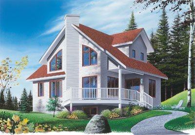 Traditional Style House Plans Plan: 5-463