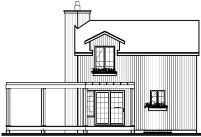 Rear Elevation Plan: 5-467