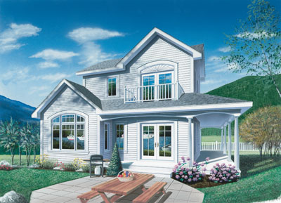 Country Style House Plans Plan: 5-468