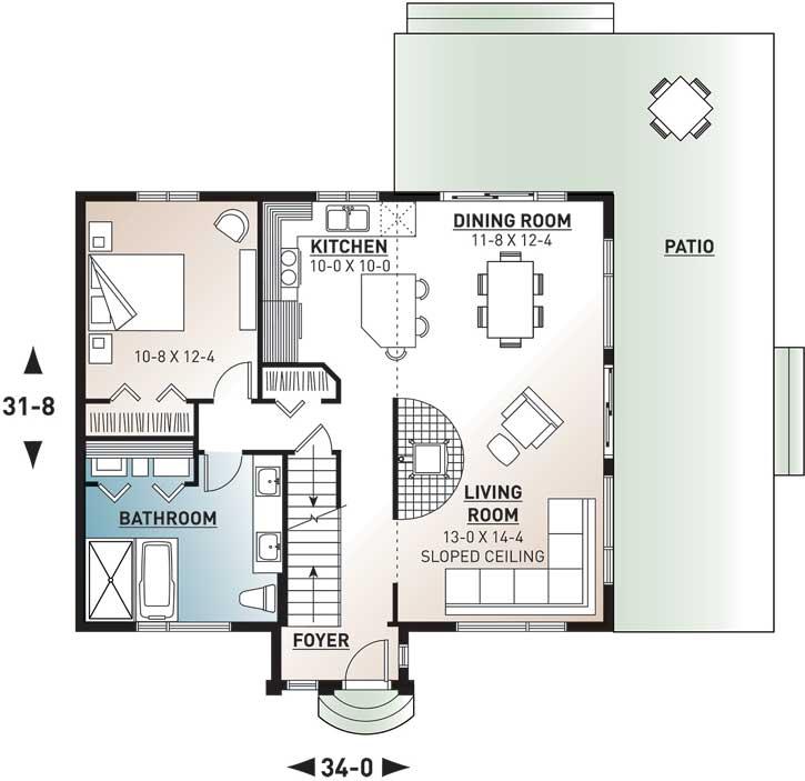 Main Floor Plan: 5-469