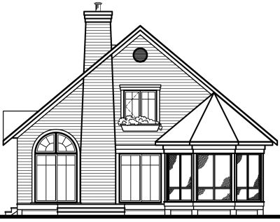 Rear Elevation Plan: 5-473