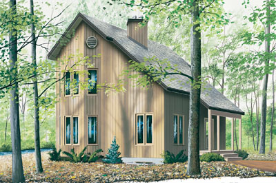 Contemporary Style House Plans Plan: 5-475
