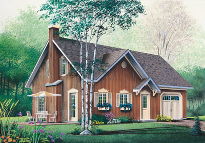 Traditional Style Floor Plans Plan: 5-477