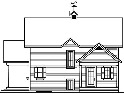 Rear Elevation Plan: 5-478