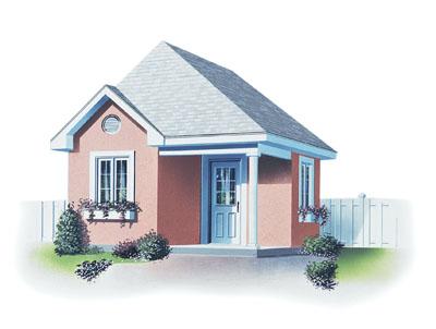 European Style House Plans Plan: 5-479