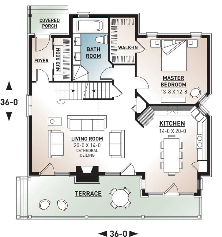 Main Floor Plan: 5-480