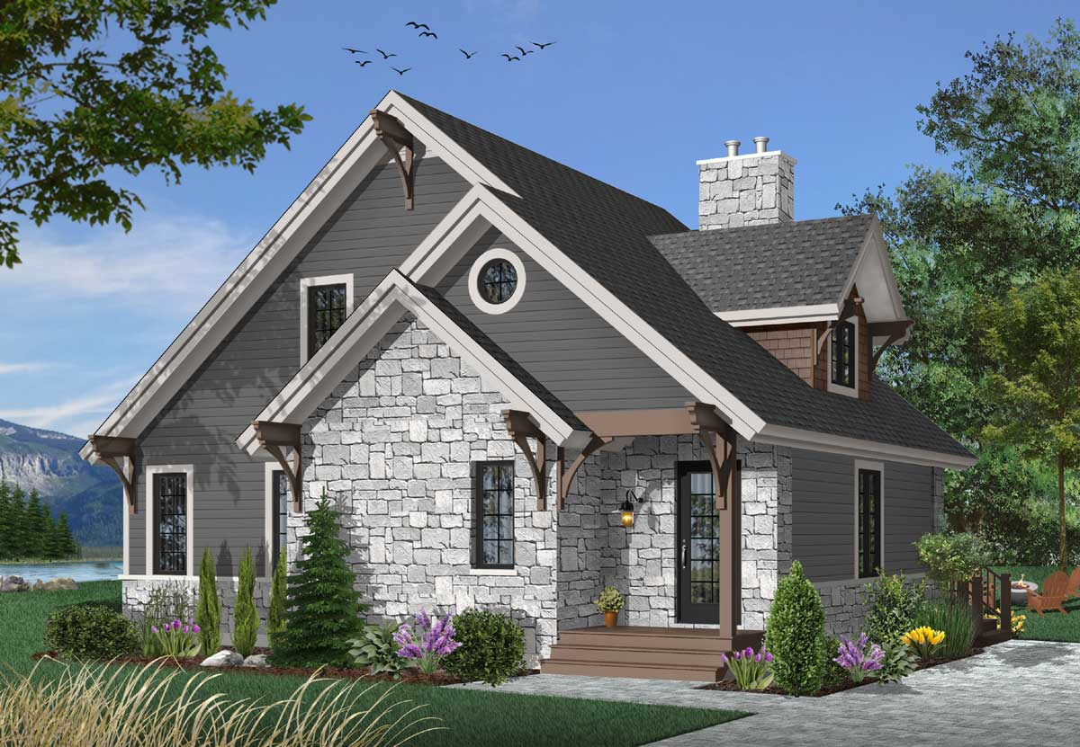 Cottage Style Floor Plans