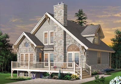 Cottage Style House Plans Plan: 5-481