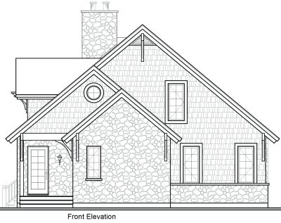 Rear Elevation Plan: 5-481