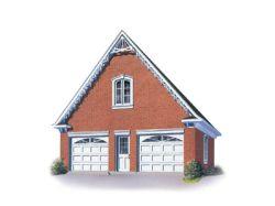 Victorian Style Home Design Plan: 5-494