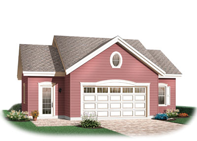 Traditional Style Home Design Plan: 5-504