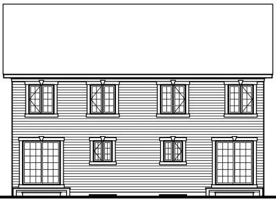 Rear Elevation Plan: 5-512
