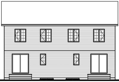 Rear Elevation Plan: 5-513