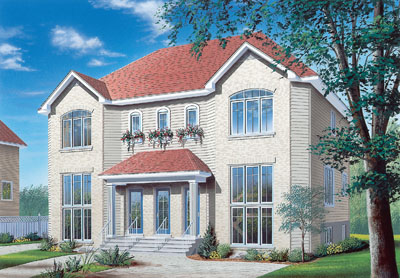 European Style Floor Plans Plan: 5-522