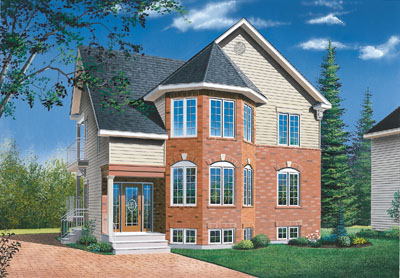 Traditional Style House Plans Plan: 5-523