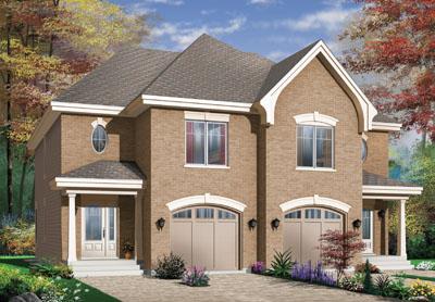 European Style Home Design 5-527
