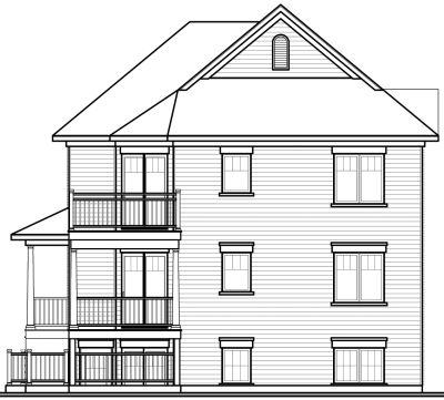 Rear Elevation Plan: 5-528