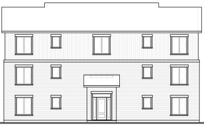 Rear Elevation Plan: 5-531