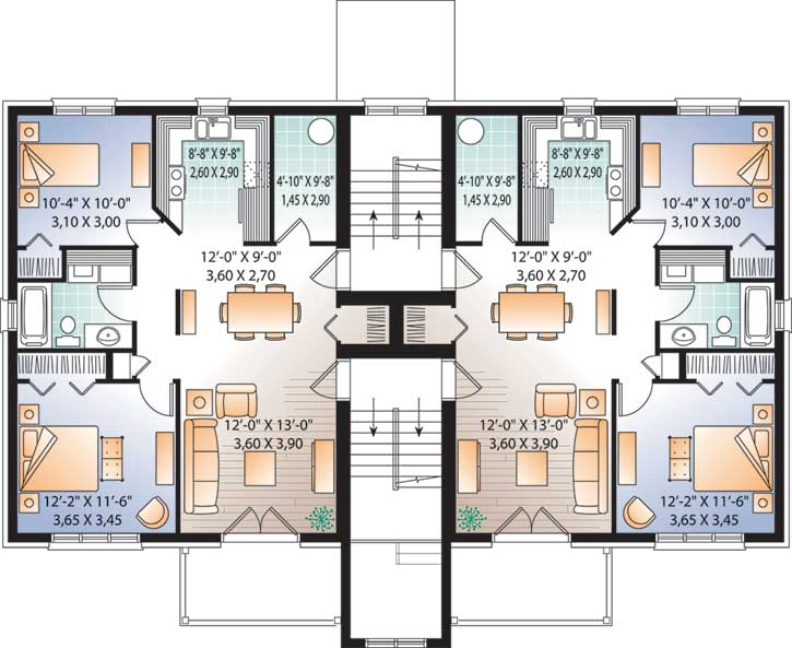 Upper/Second Floor Plan 5-531