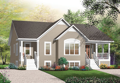 Traditional Style House Plans Plan: 5-532