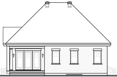 Rear Elevations Plan:5-538