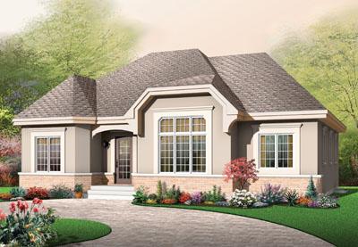 European Style House Plans Plan: 5-539