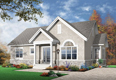 Traditional Style Floor Plans Plan: 5-541